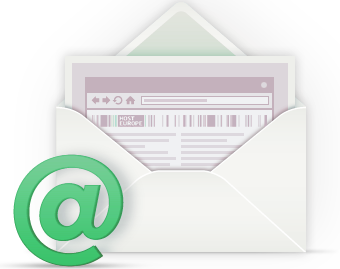 E-mail with your personal address